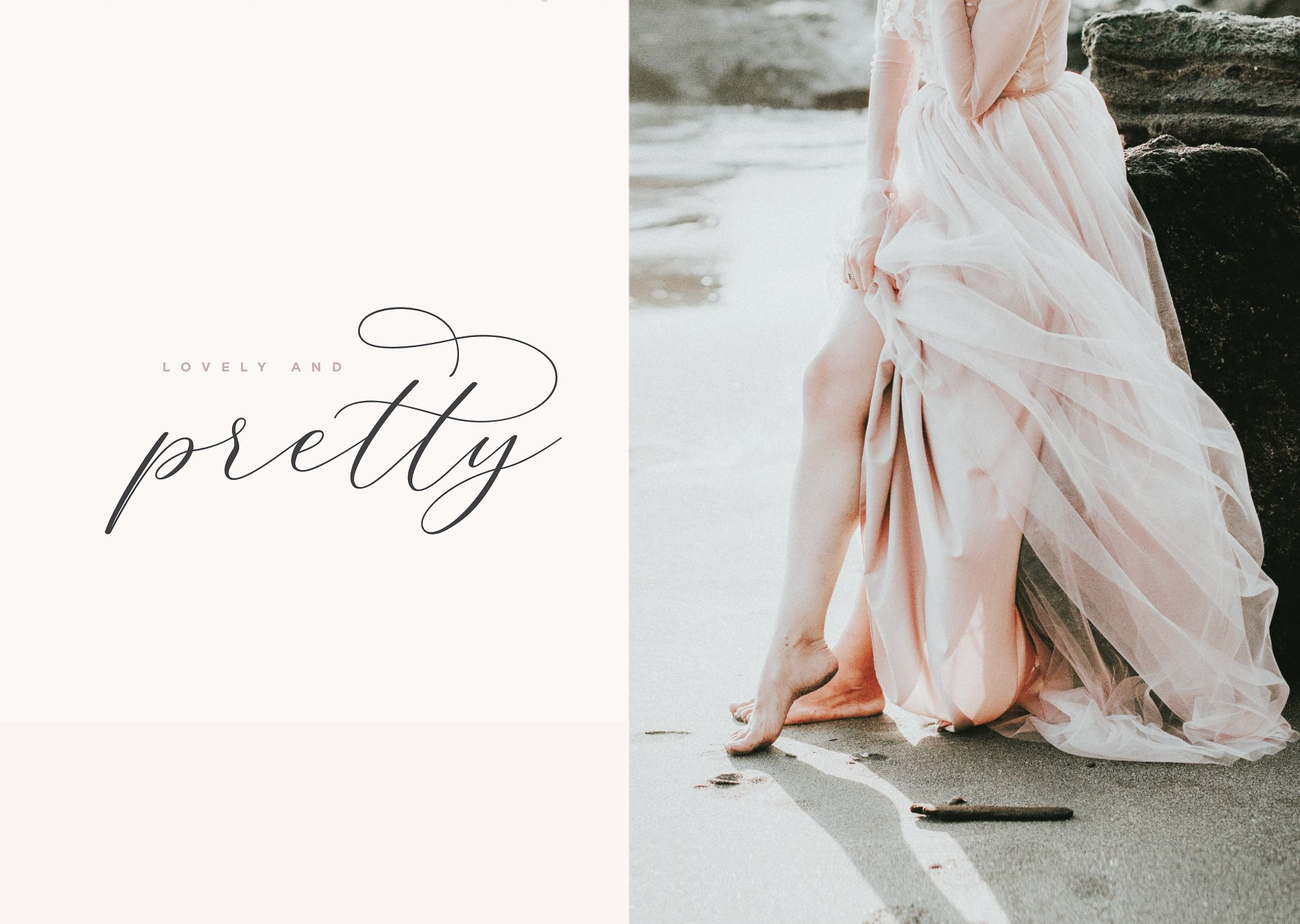Adore Calligraphy Font example image 9