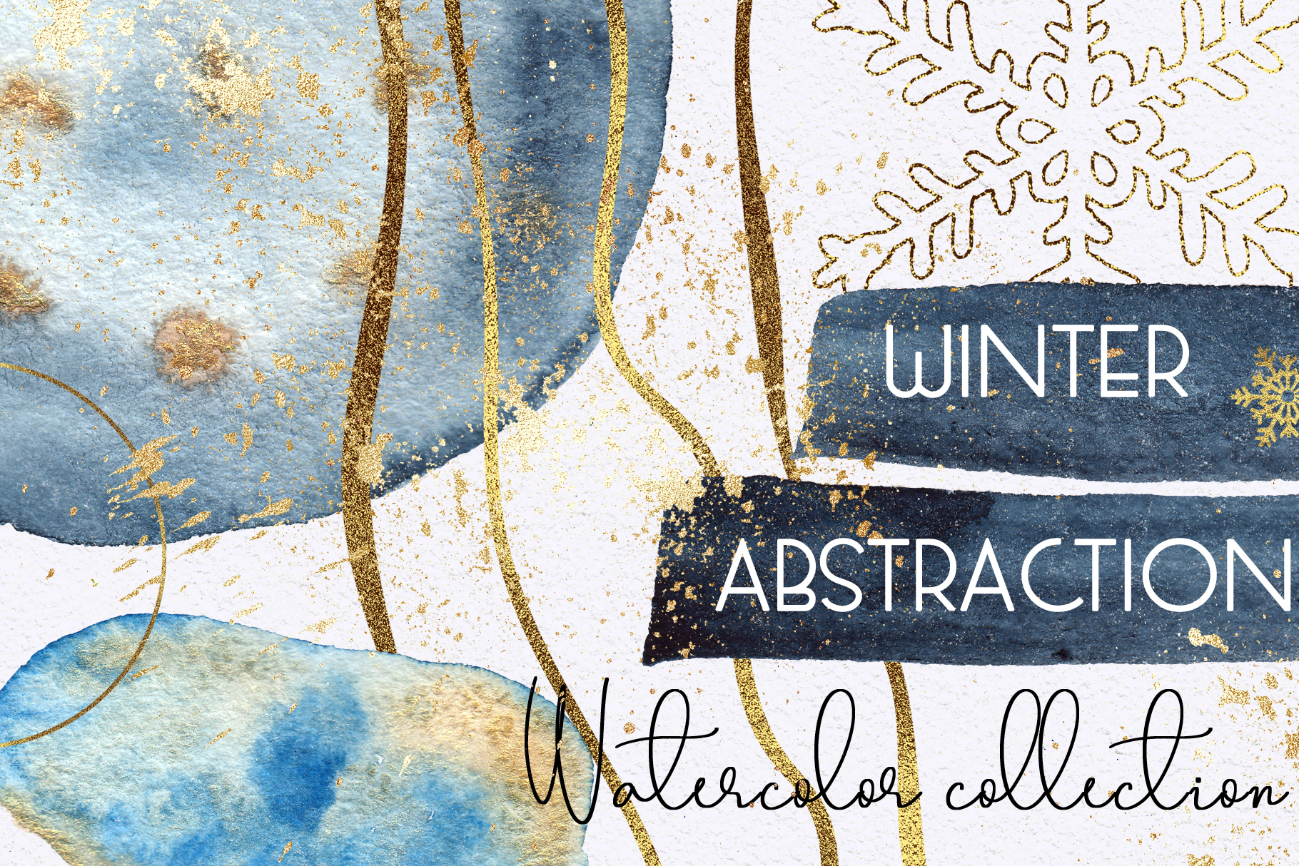Winter abstraction example image 1