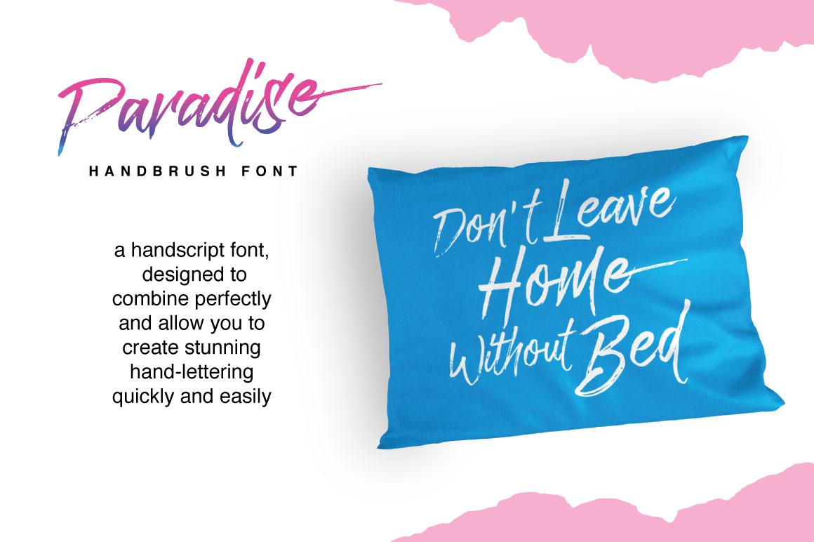Paradise Typeface example image 9