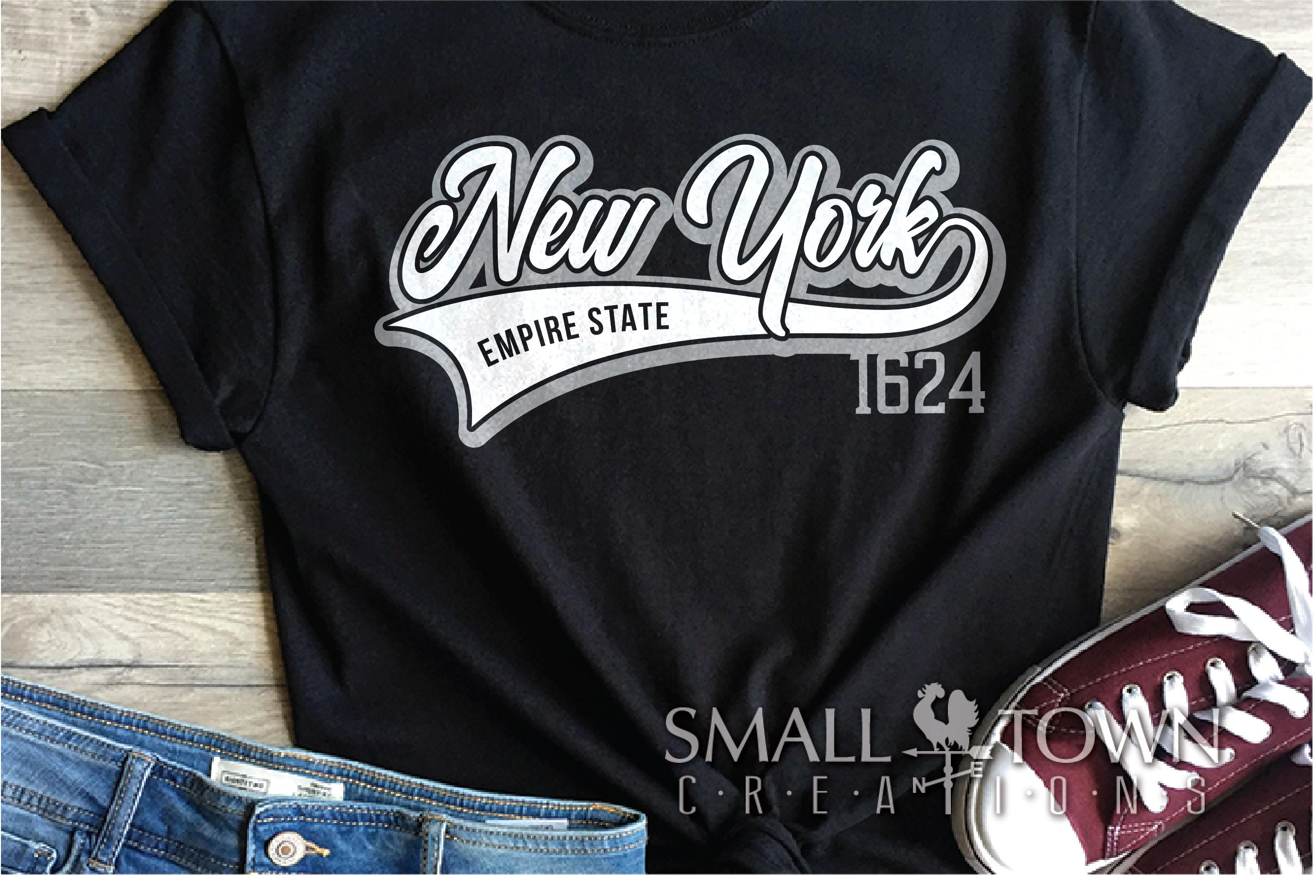 New York, Empire State - slogan, PRINT, CUT & DESIGN example image 4