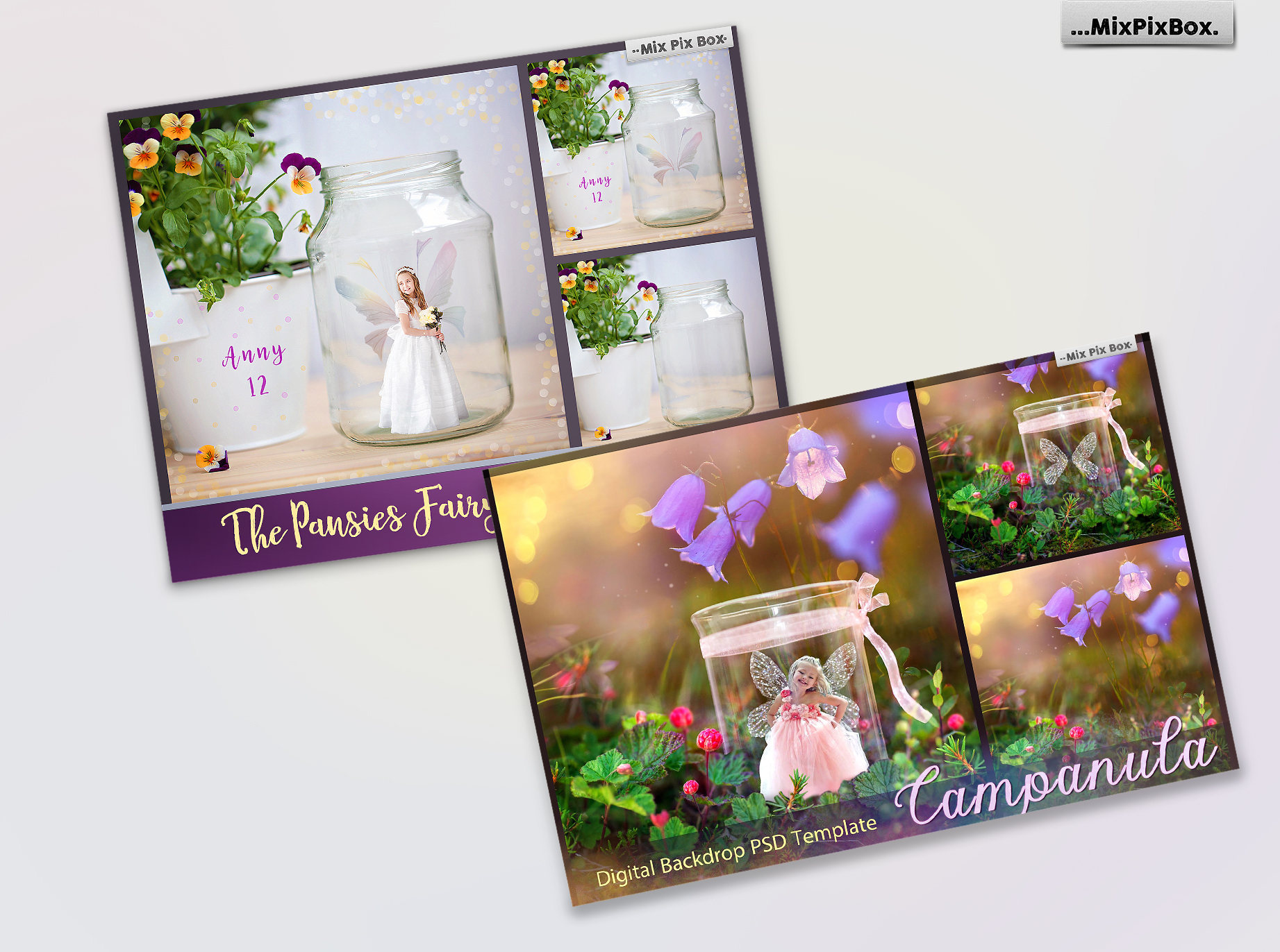 Fairy Backdrops Bundle example image 3