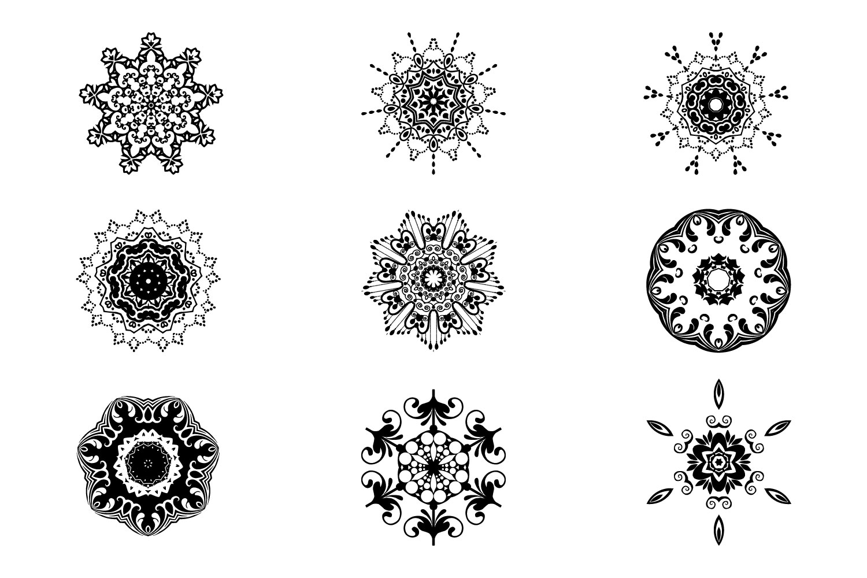 125 Vector Mandala Design example image 4