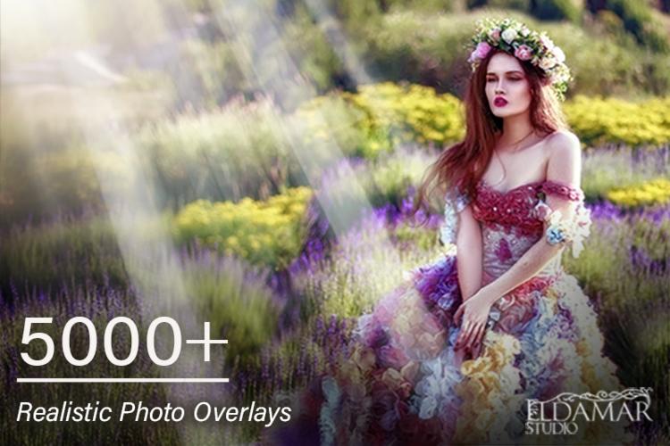 5000 Professional Photo Overlays example image 1