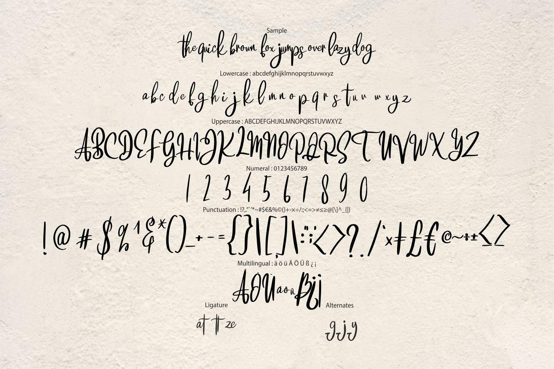 Brattsoon | Modern Script Font example image 6