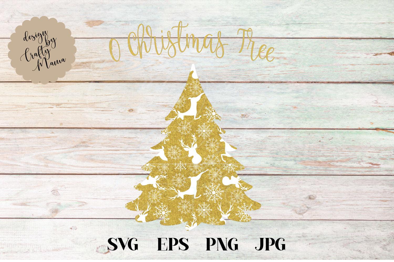 O Christmas Tree SVG, Christmas SVG example image 2