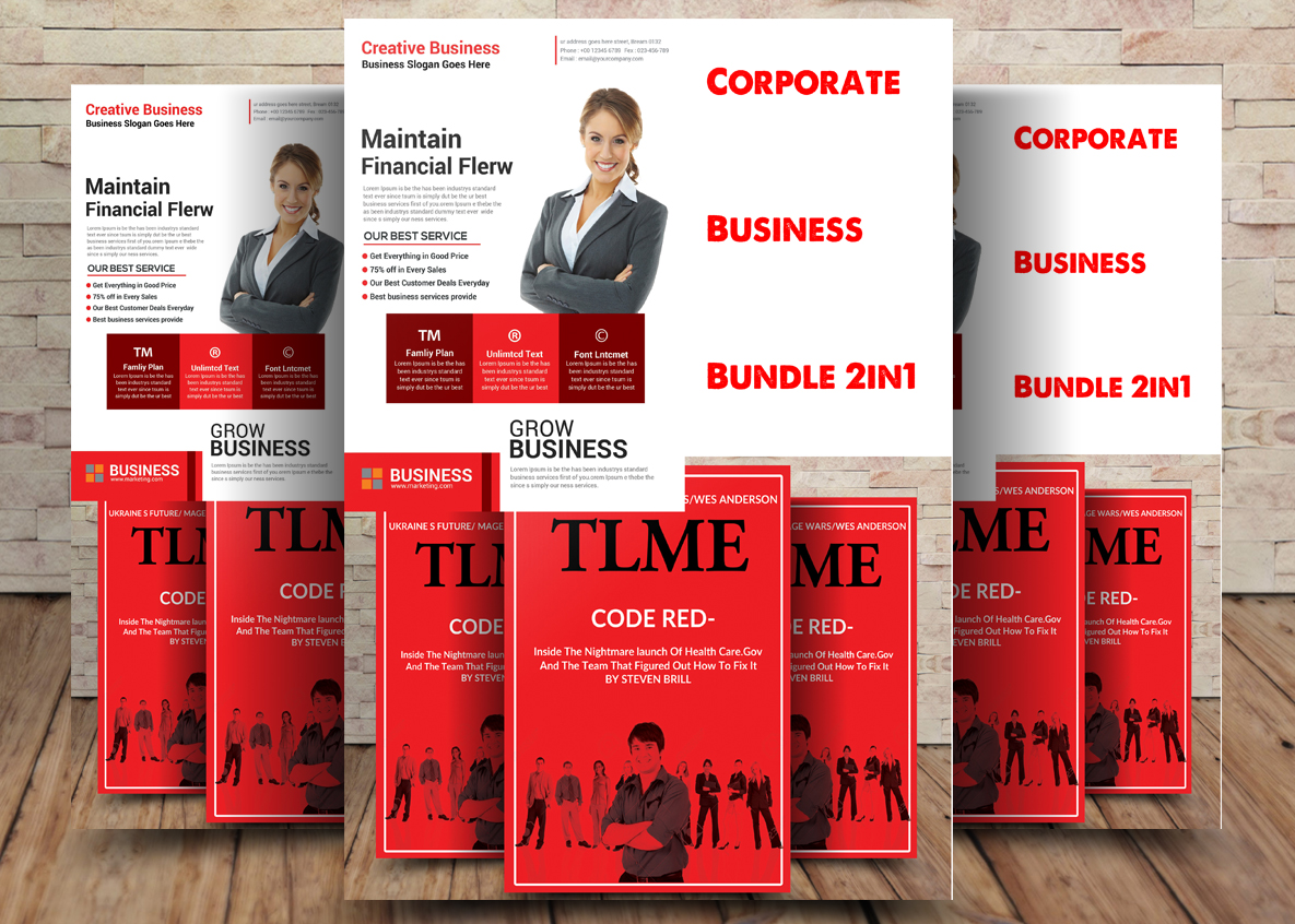 Corporate Business Bundle 2 example image 1