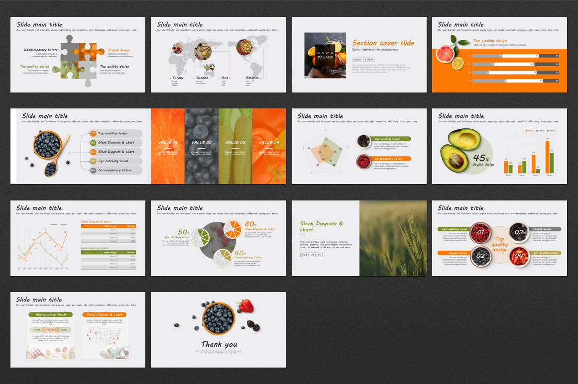 Fruits PPT  example image 3