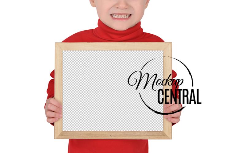 Children's School Frame Sign Mock Up, JPG & PNG Mockup example image 3