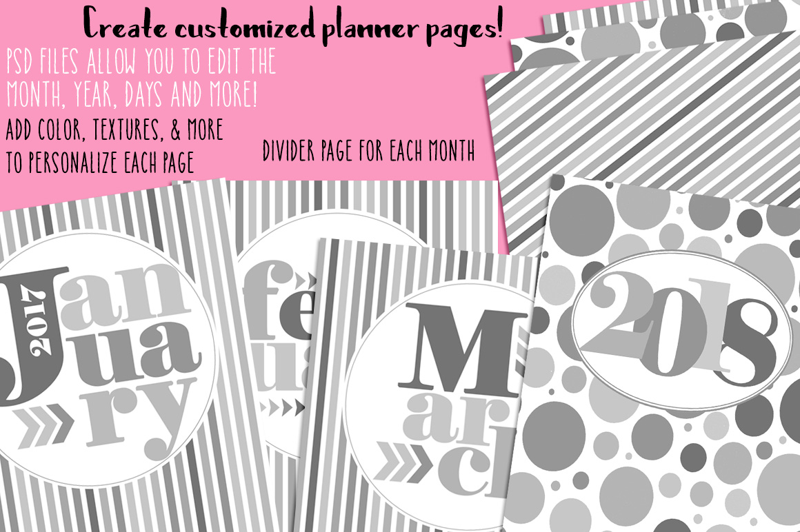Customizable Planner Templates example image 2