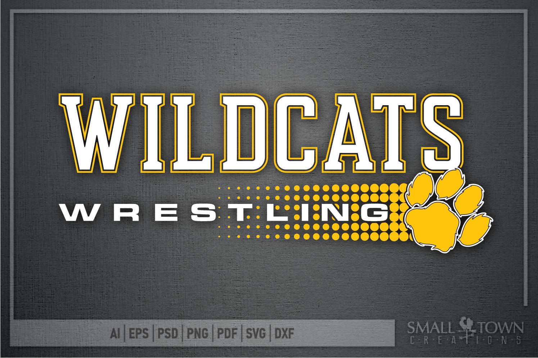 Wildcat, Wrestling, Sports, Team, Design, PRINT, CUT, DESIGN example image 5
