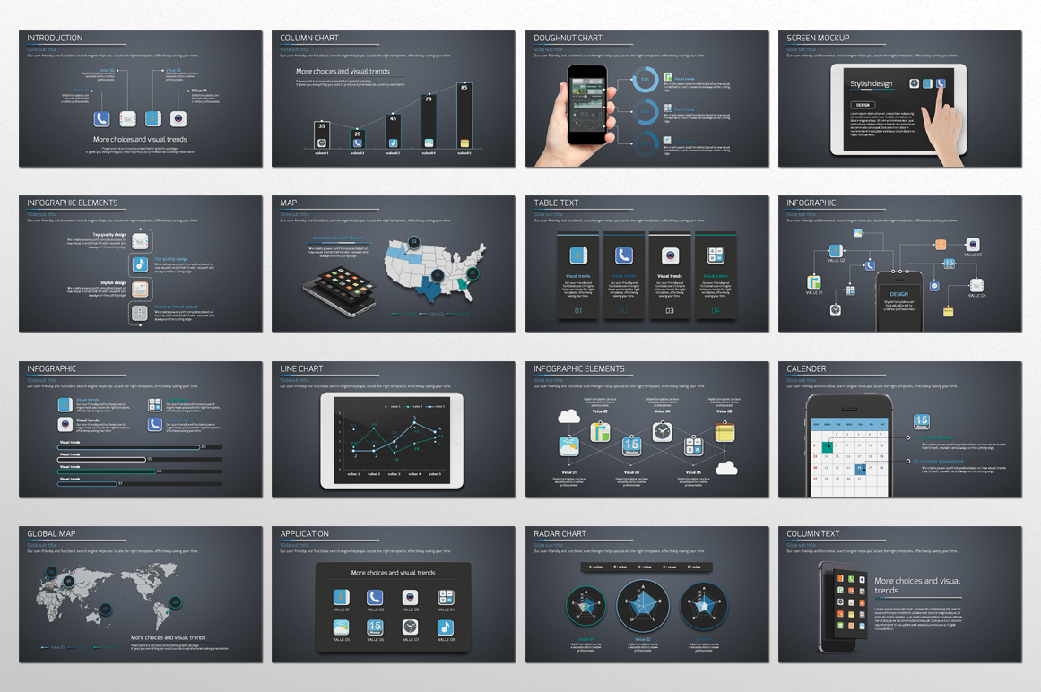 Application Presentation Template example image 3