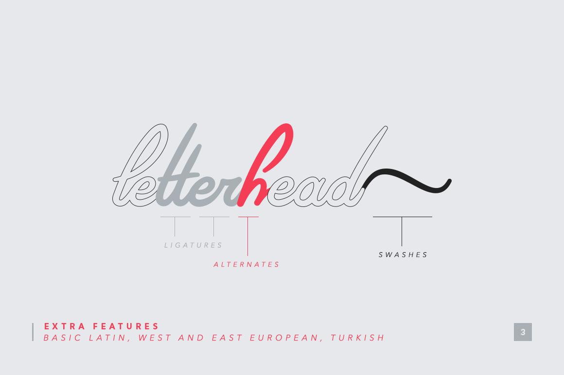 Riviera - Signature Font example image 3