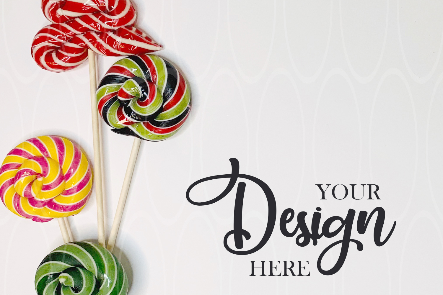 Candies Styled Stock Photo Product Disposable tableware example image 1