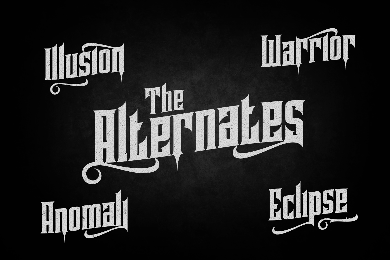 Pindunk Typeface example image 3