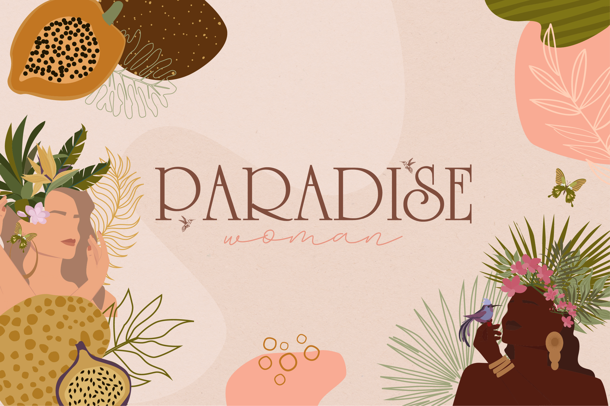 Paradise Woman example image 1