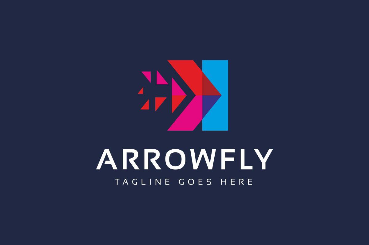 Arrow Fly Logo example image 2