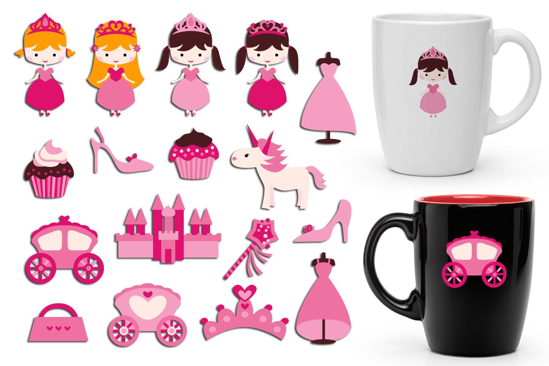 Just For Girls Clip Art Illustrations Huge Bundle example image 7