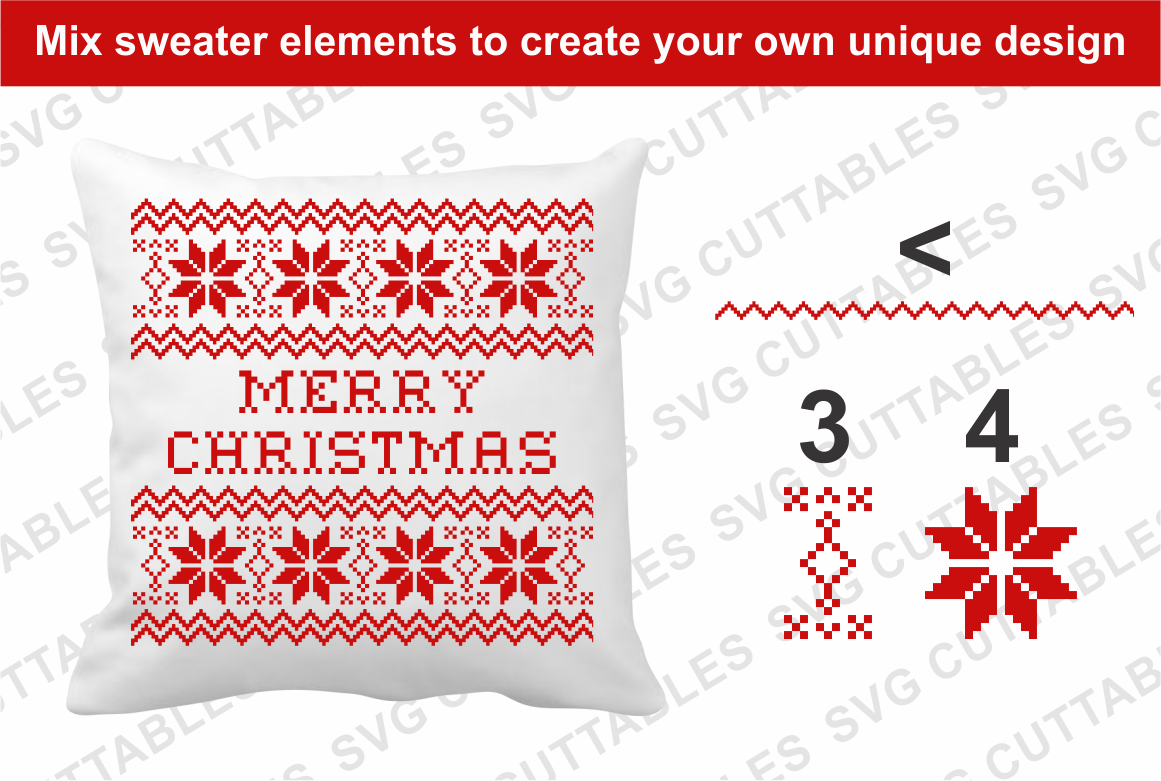 Ugly Christmas Sweater font example image 3