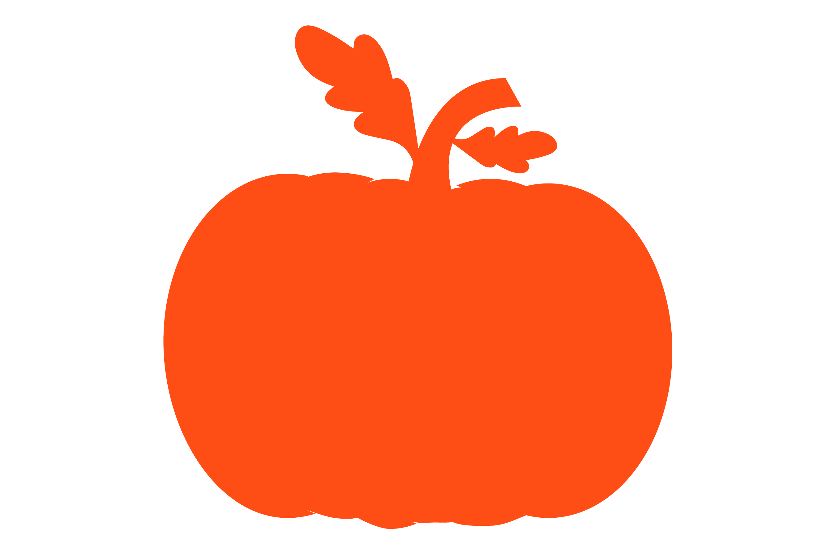 Pumpkin patch - Pumpkin Monogram 5 Designs SVG cut File example image 6