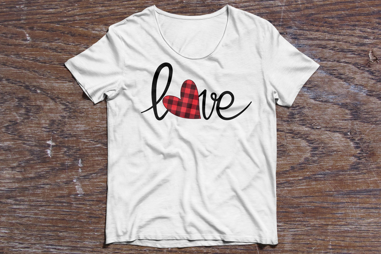 Love Valentine, svg file example image 2