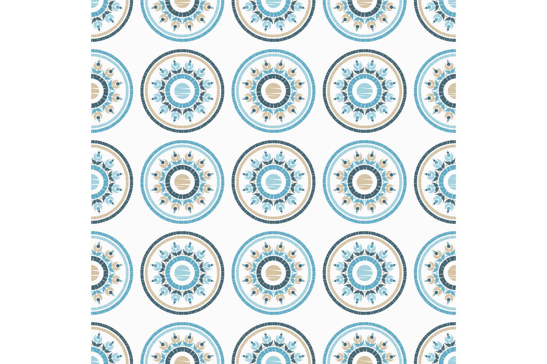Polka dot ornament. Set of 10 seamless patterns. example image 4
