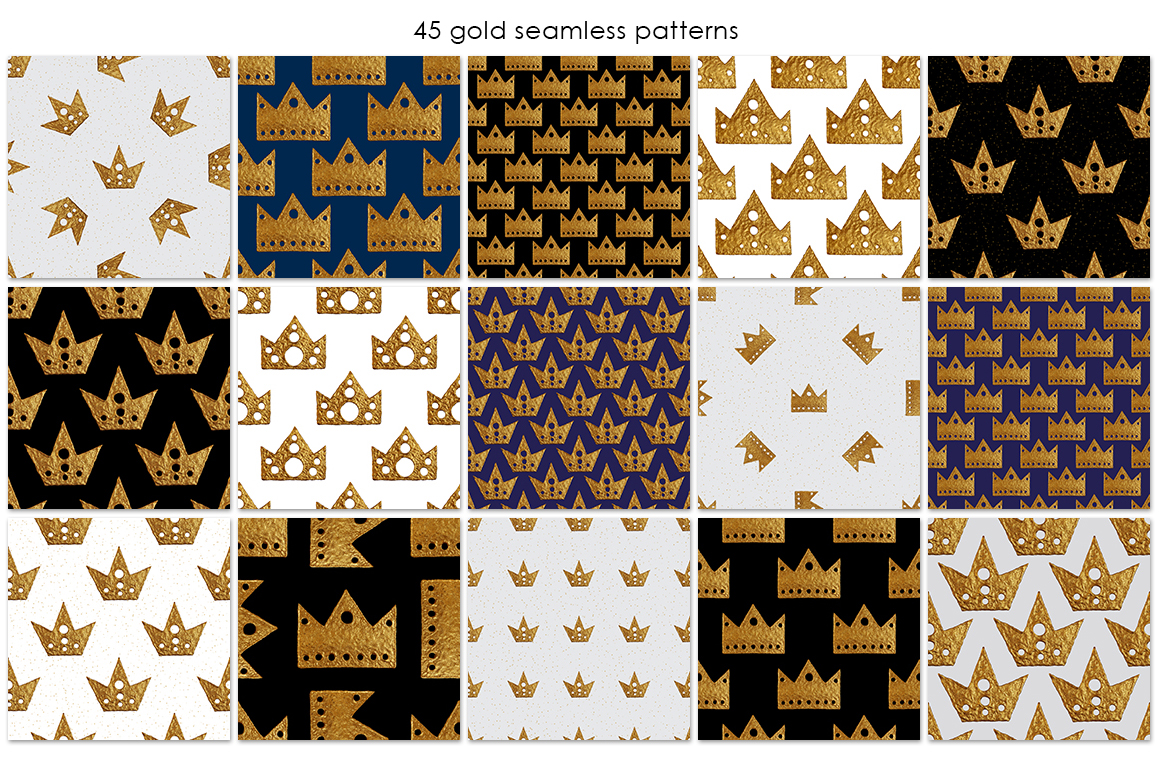 GOLD CROWN patterns example image 4