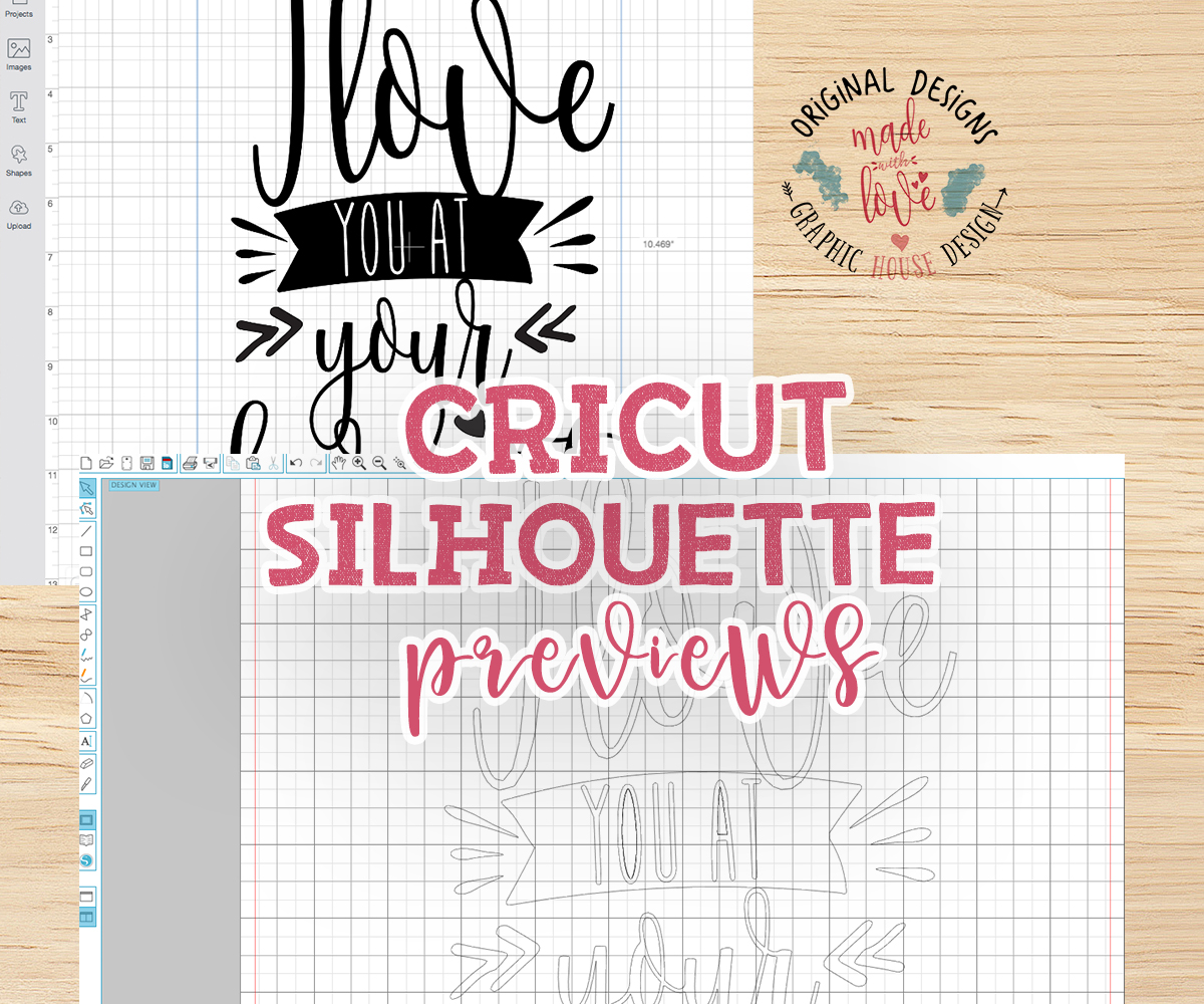 I love you at your darkest Cutting File (SVG, DXF, PNG) example image 2