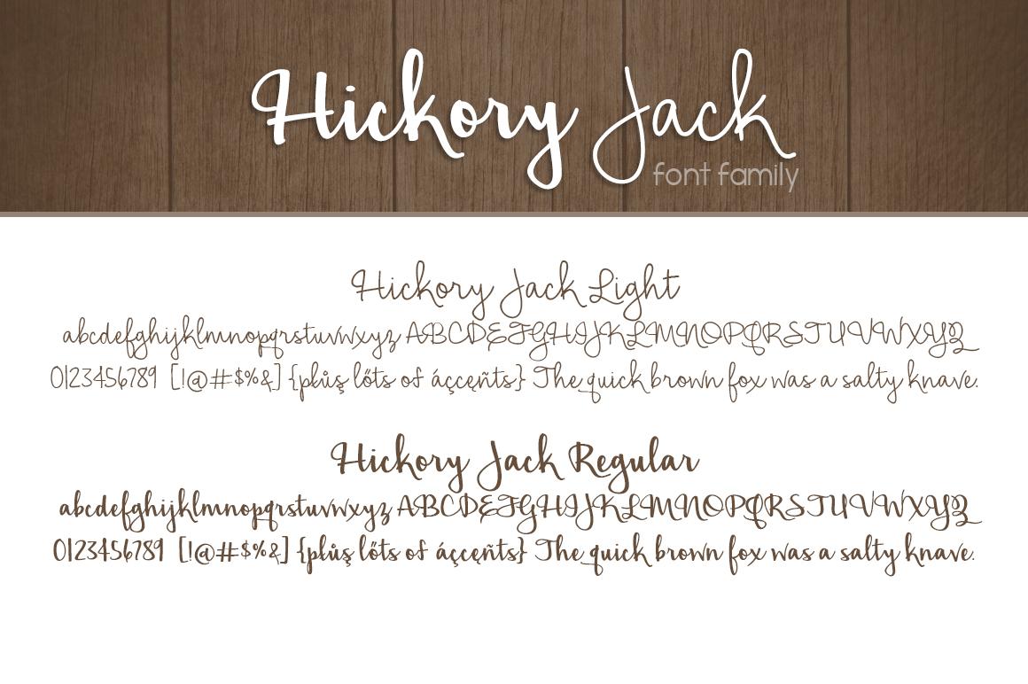 Hickory Jack example image 2