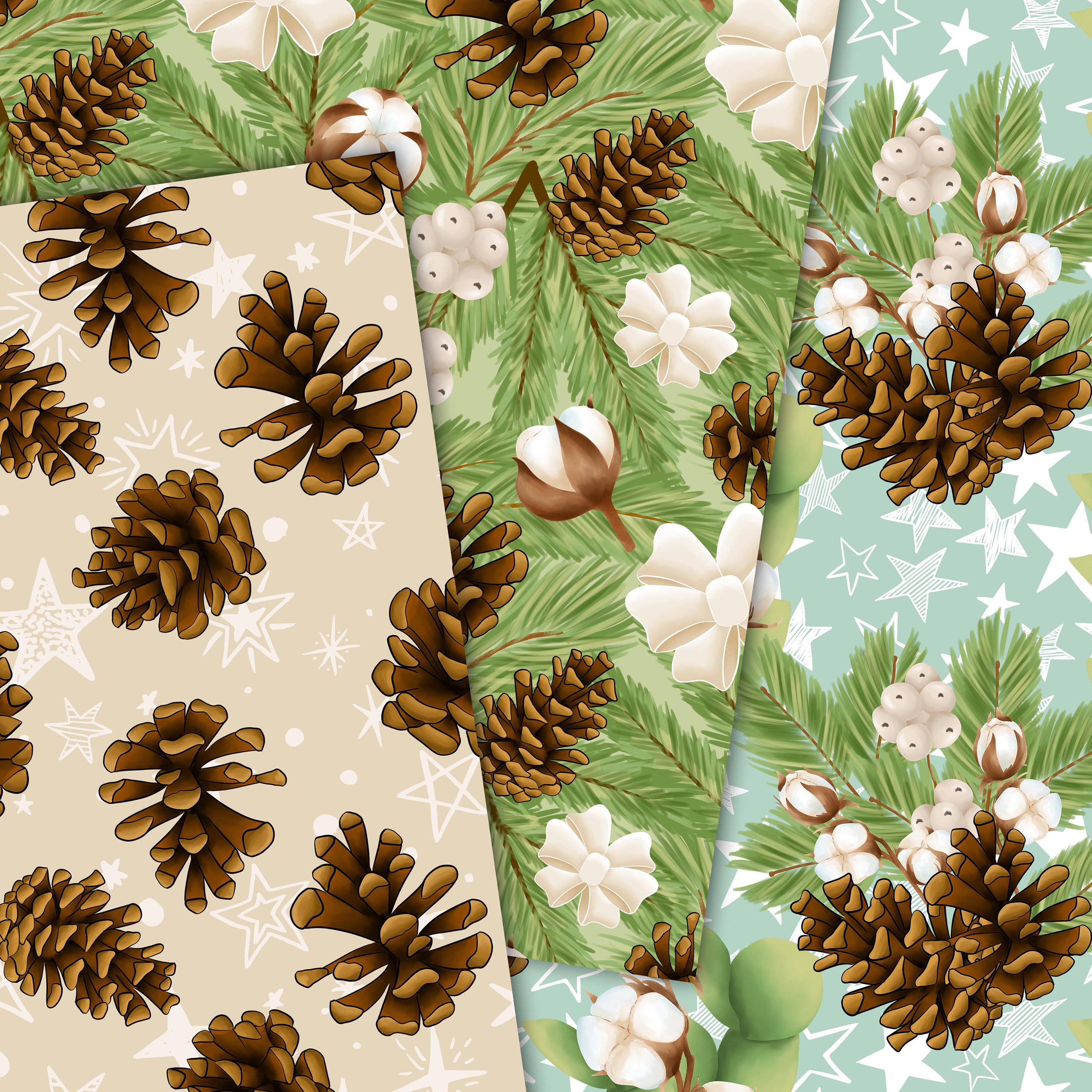 Cotton winter patterns example image 4