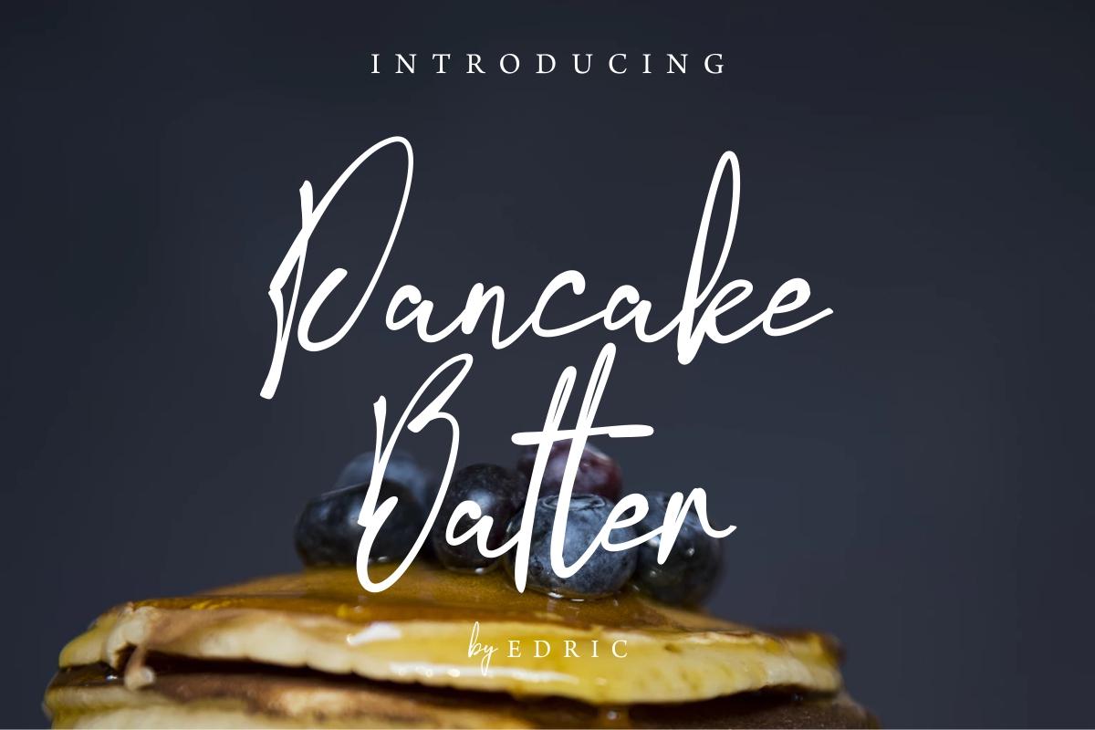 PancakeBatter example image 2