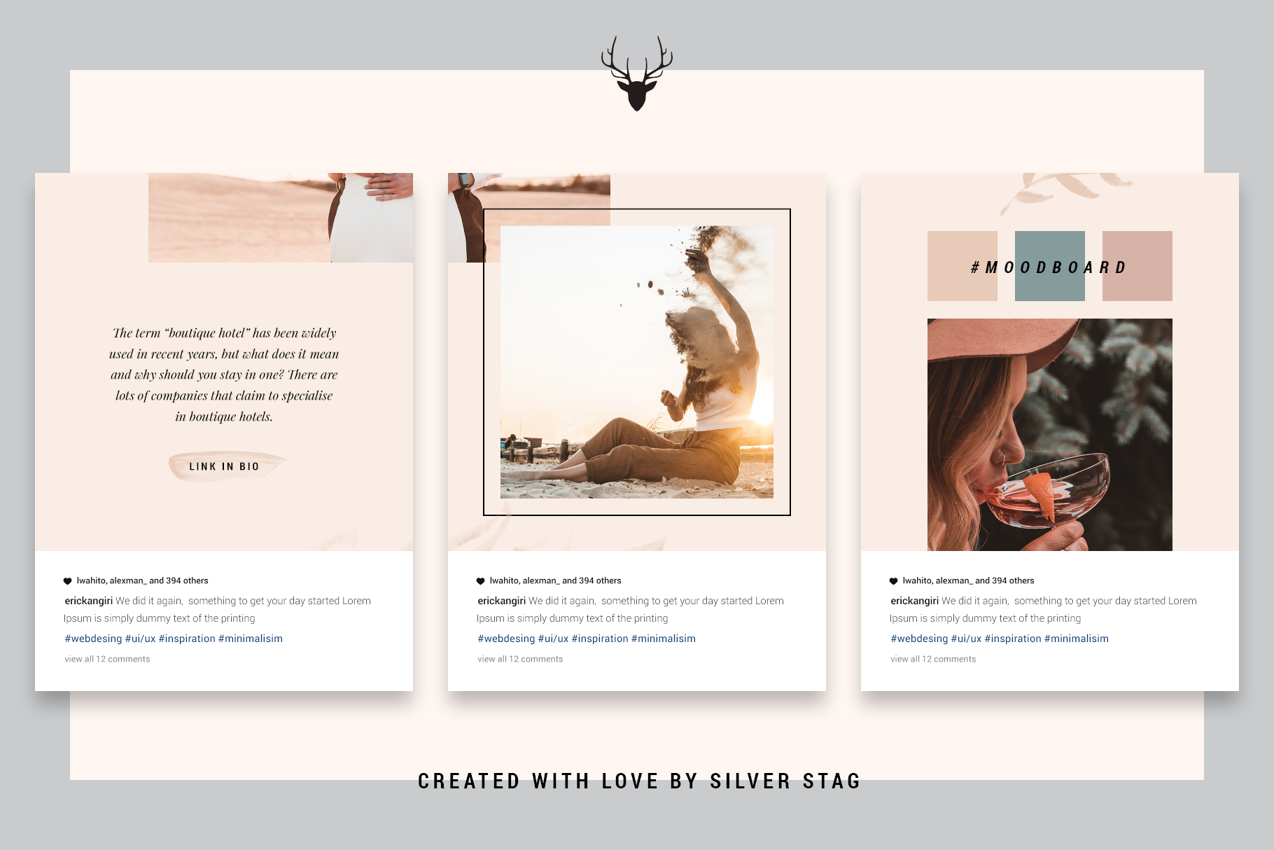 InstaGrid 5.0 - Creative & Modern Instagram Puzzle Template example image 5
