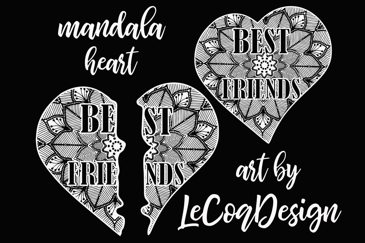 Best Friends Clipart,SOUL SISTERS CLIPART, Bff clipart, example image 6