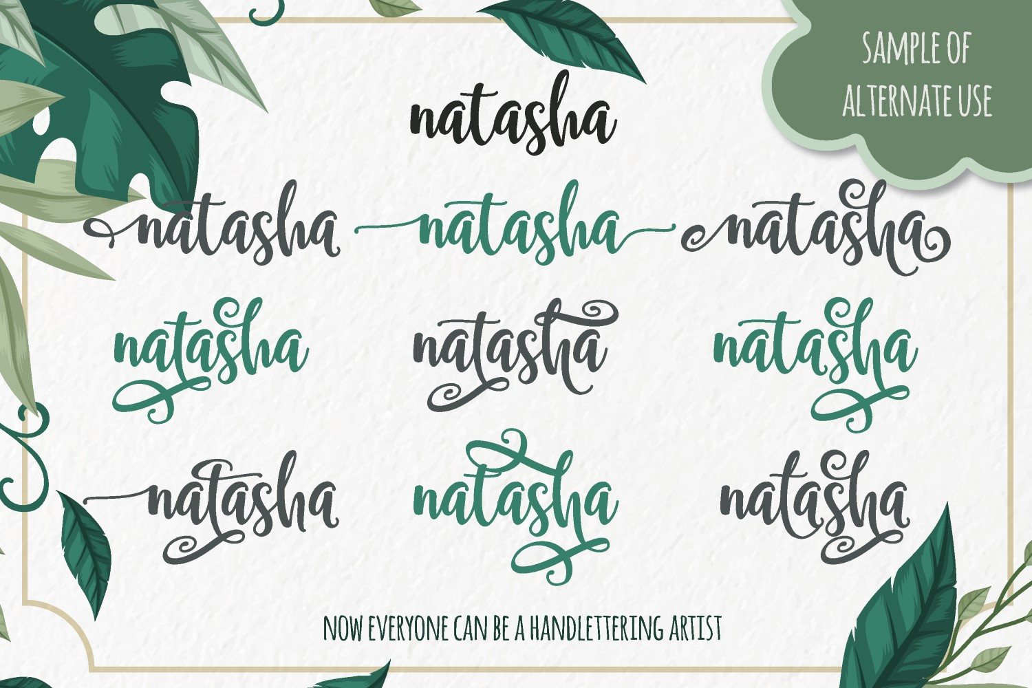 Samellya - Crafter's Font! example image 14