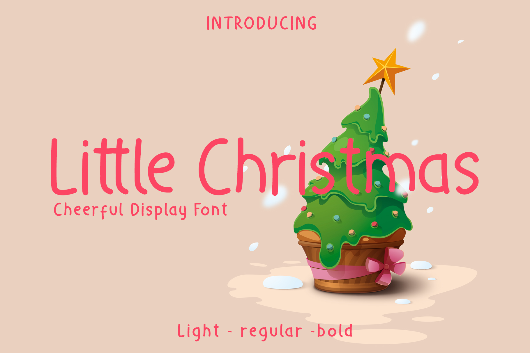 Little Christmas - Cheerful Holiday Font example image 1