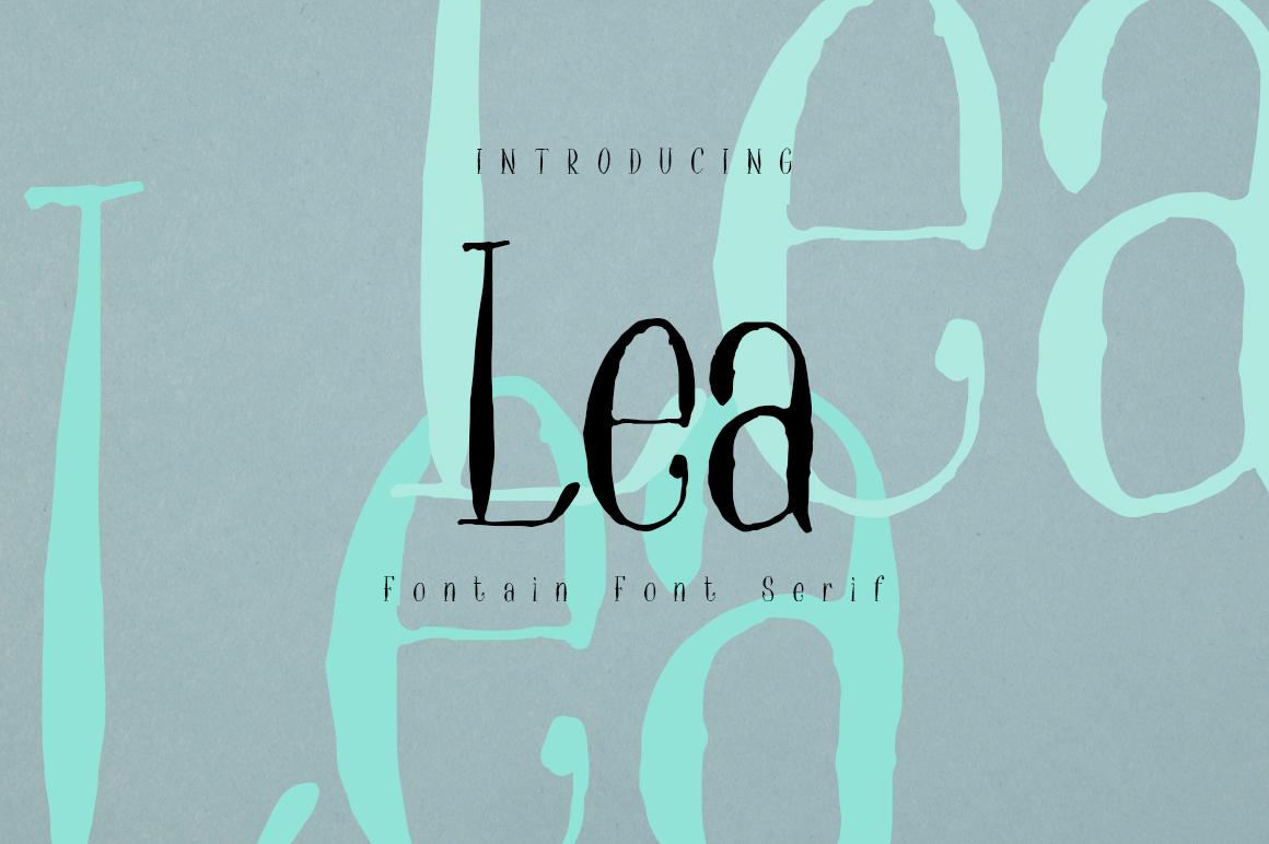 Lea Serif example image 1