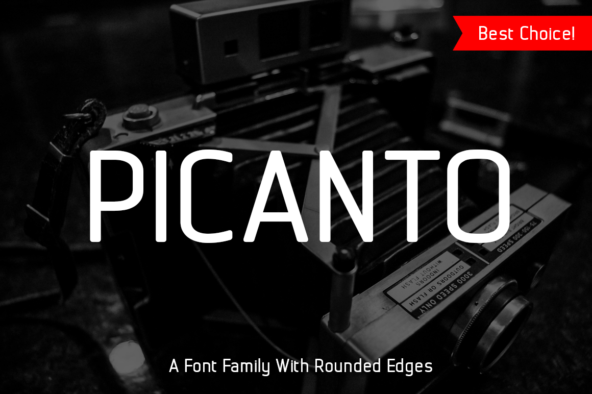 Picanto Font example image 1