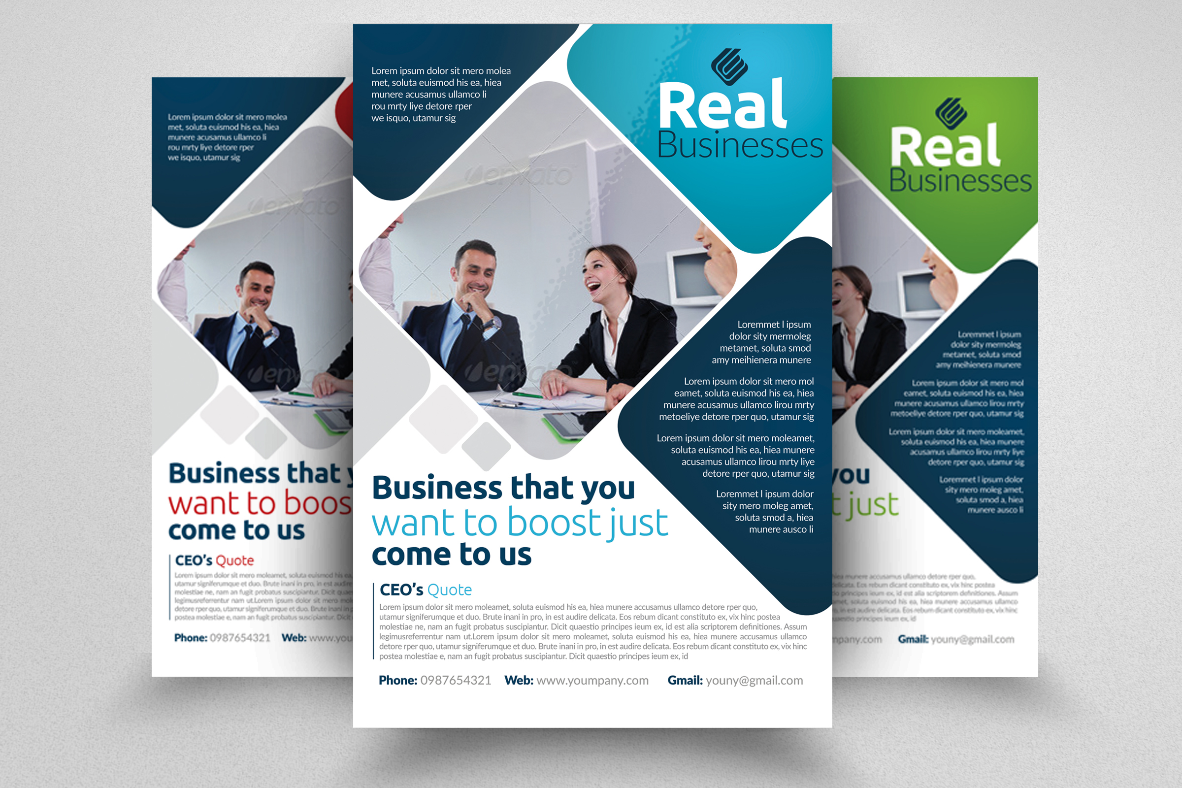 7 Business Flyers Bundle example image 5