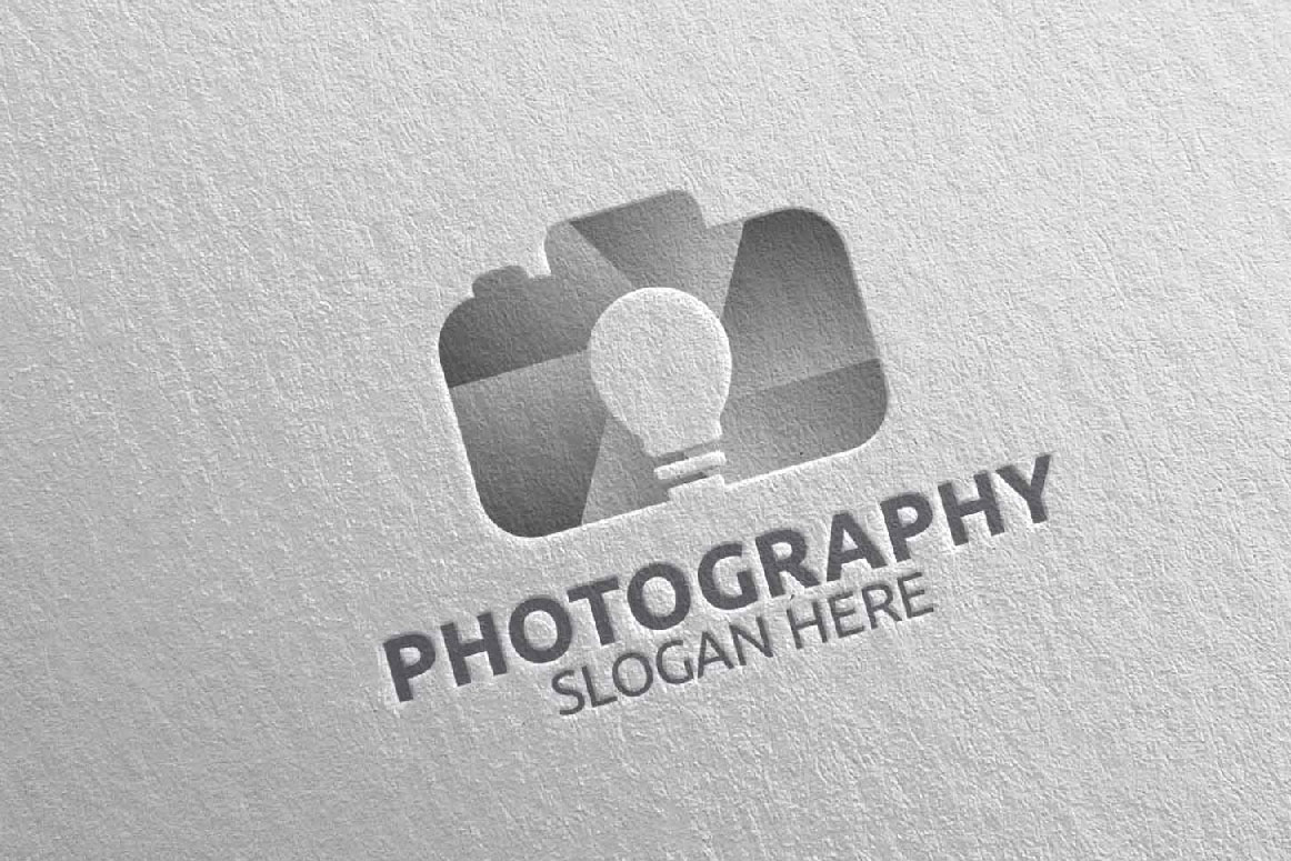 Abstract Camera Photography Logo 11 example image 4