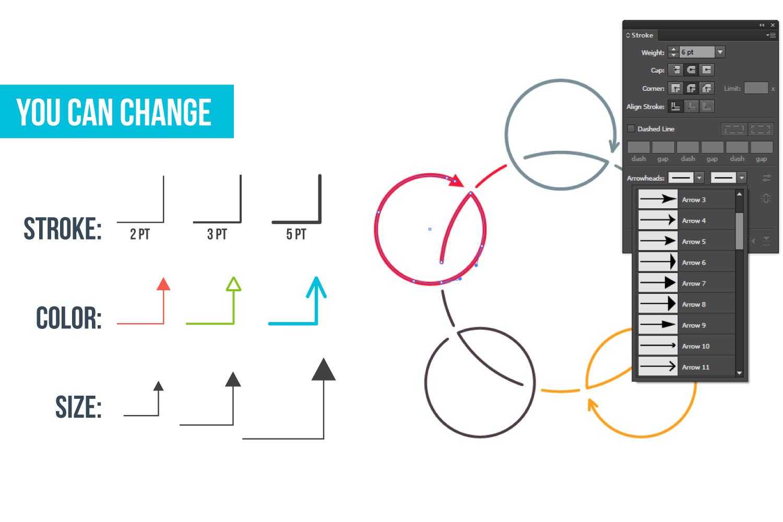 Minimal infographic PPT presentation example image 3