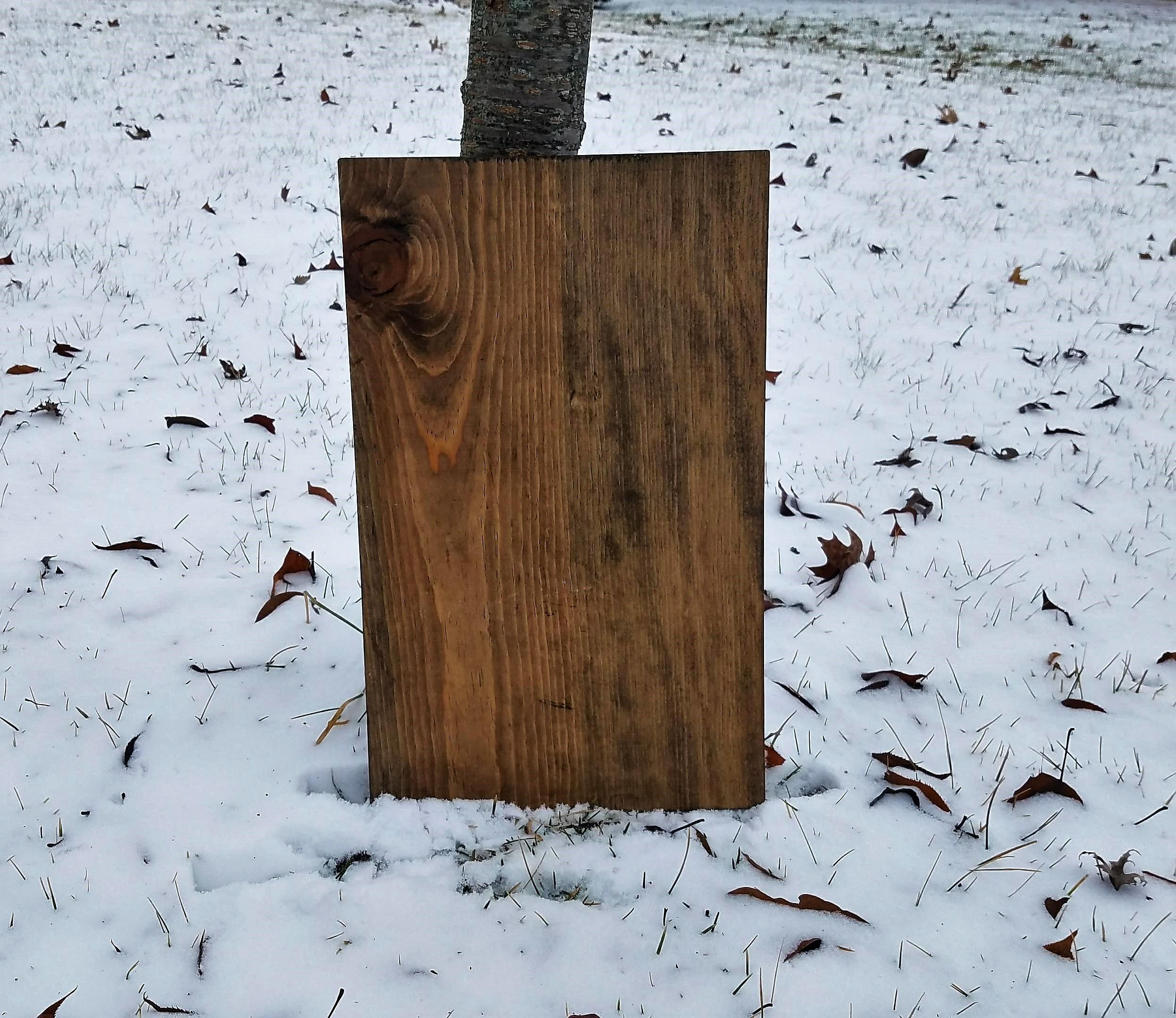 Wood sign Mockups example image 2