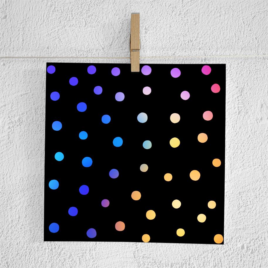 Gradient Confetti Overlays example image 3