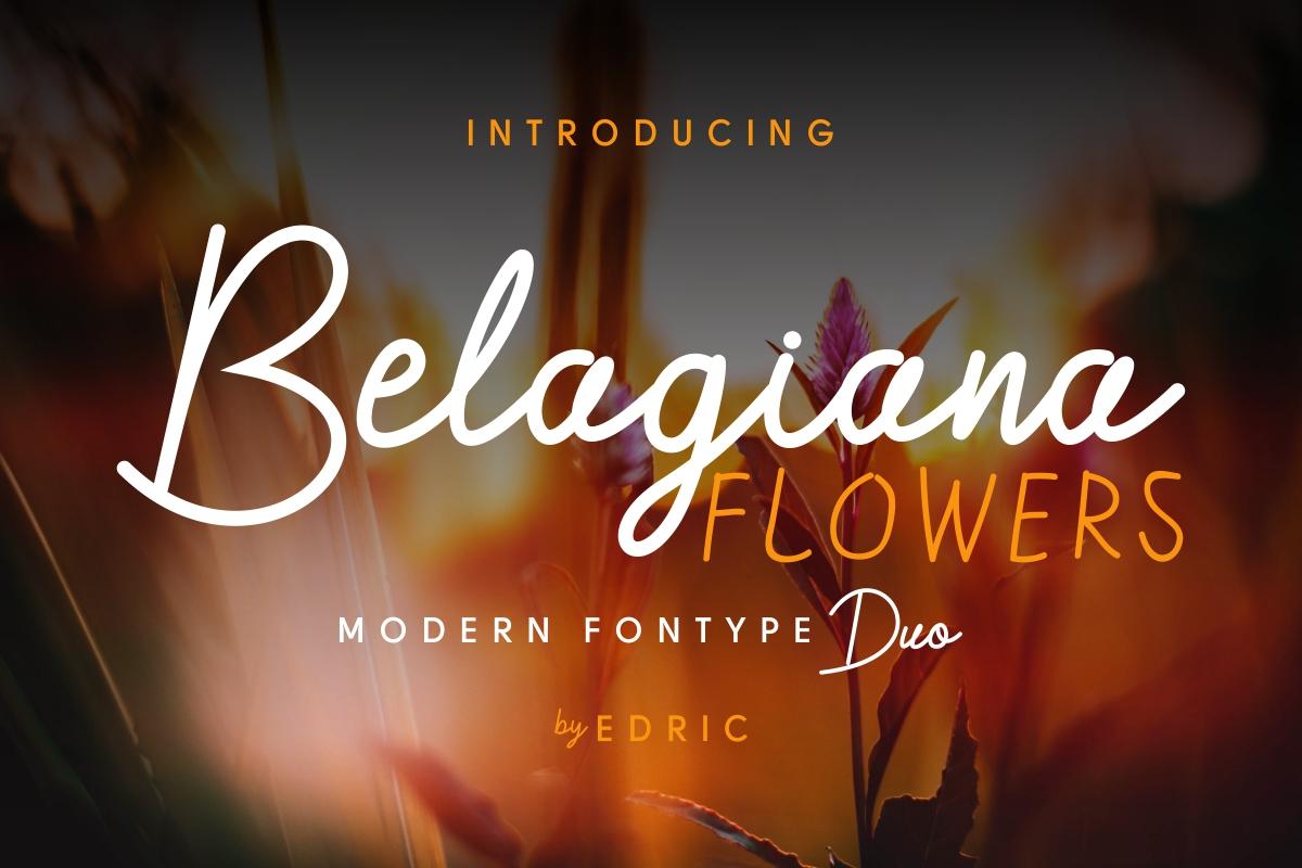 Belagiana Flowers example image 2
