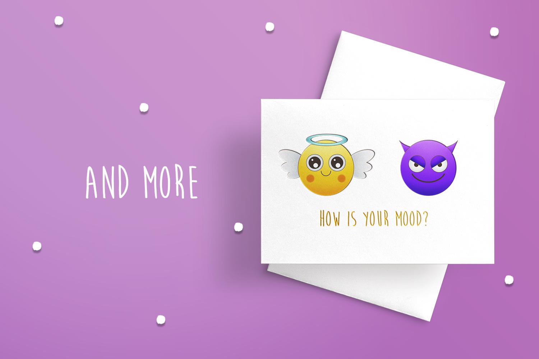 Emoji faces example image 5