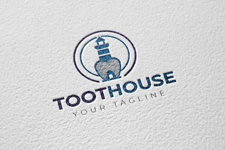 Dental, Tooth Logo Design example image 2