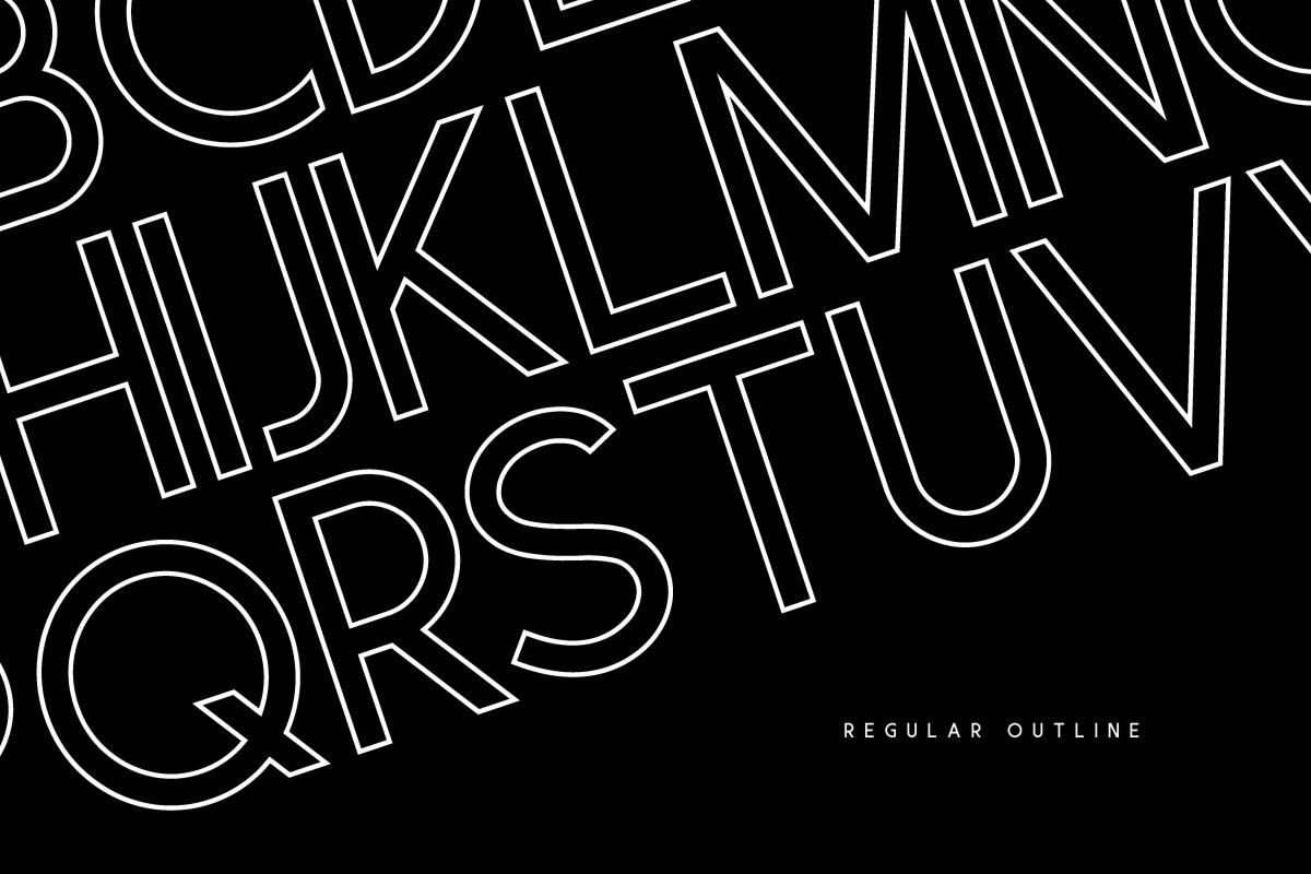 Visage Typeface example image 4