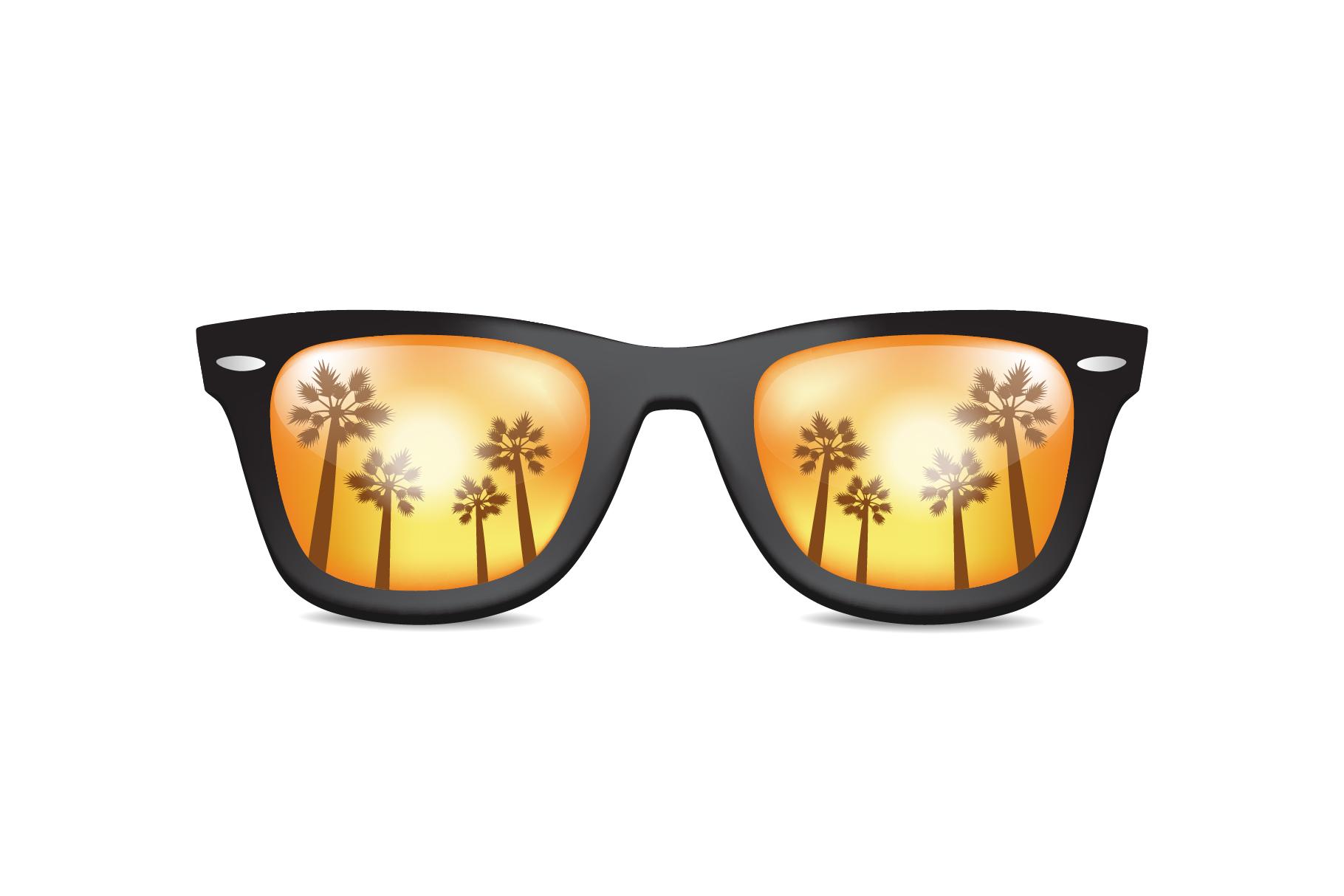 Realistic Sunglasses example image 1