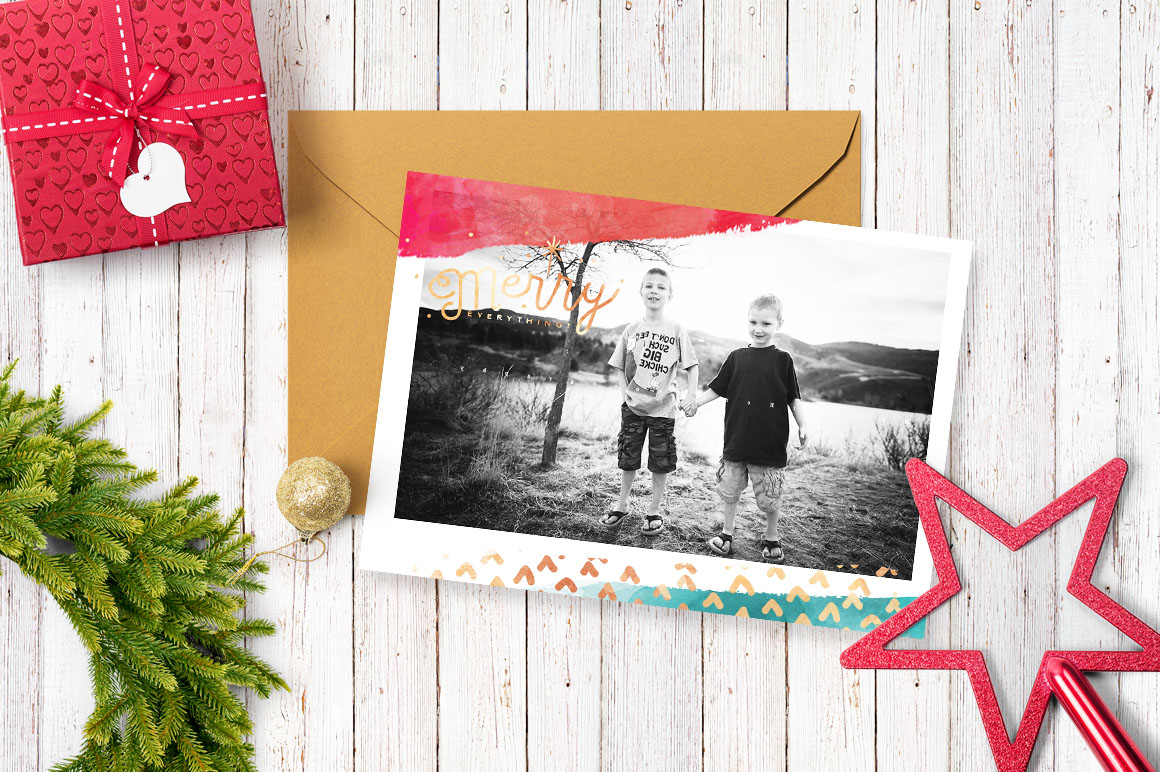 Design your own Christmas Cards example image 3