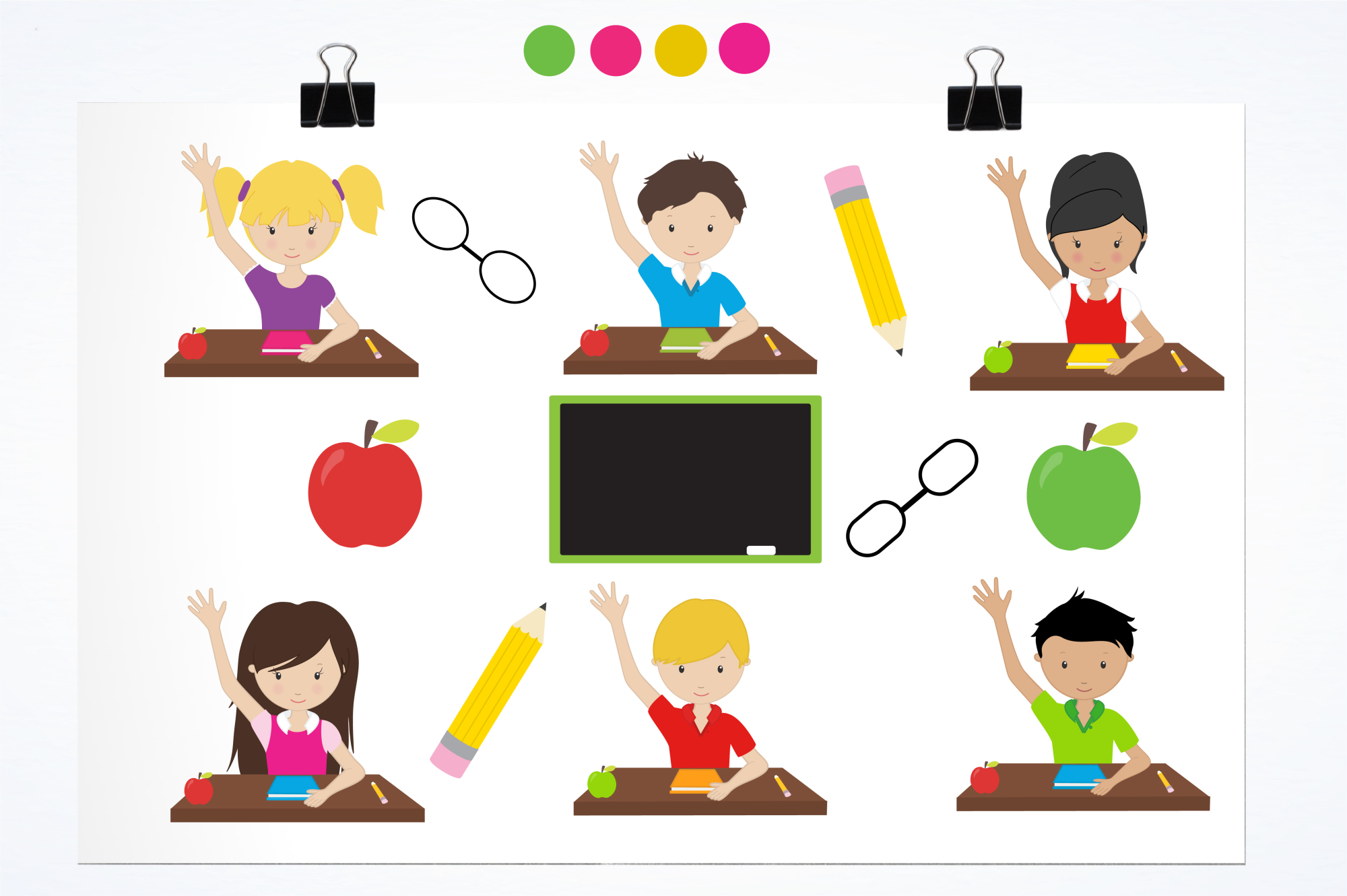 Classroom Fun graphics and illustrations example image 2