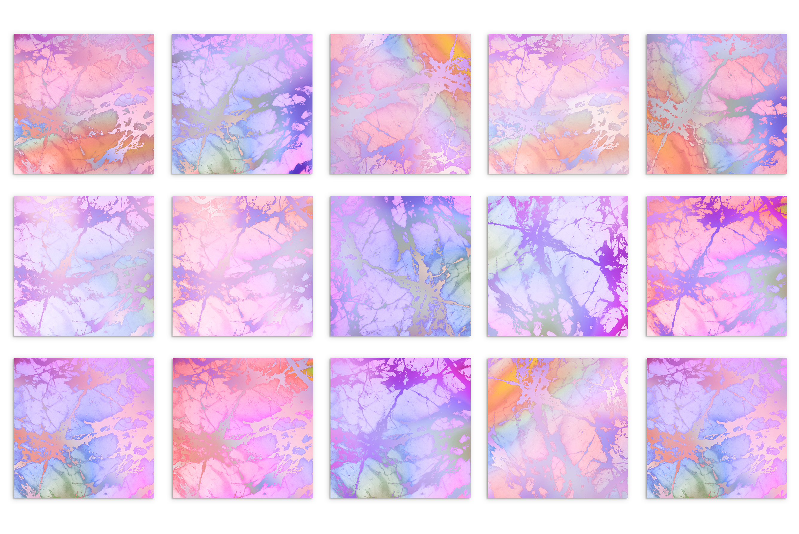 Rose Iridescent Marble Textures example image 3