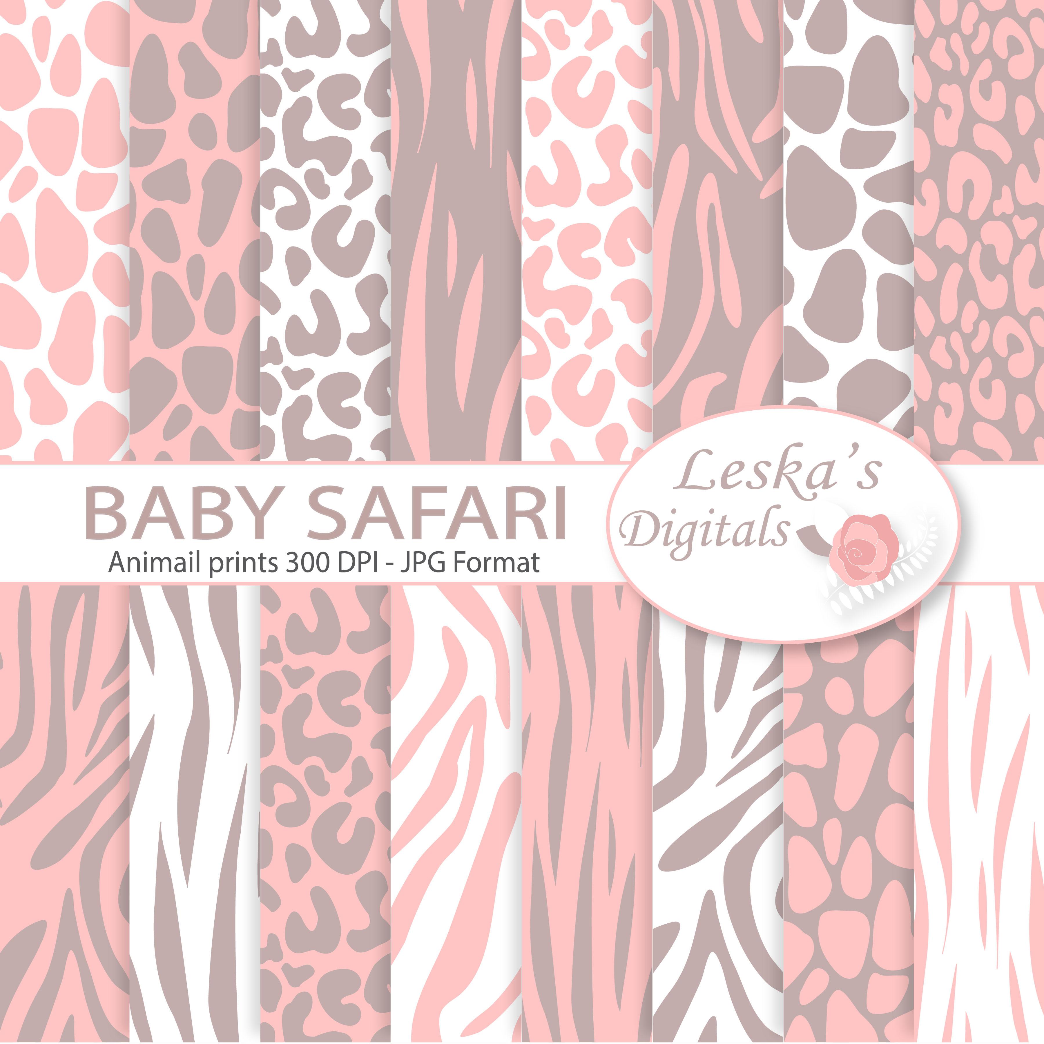Animal Print - Pink Baby Girl example image 1